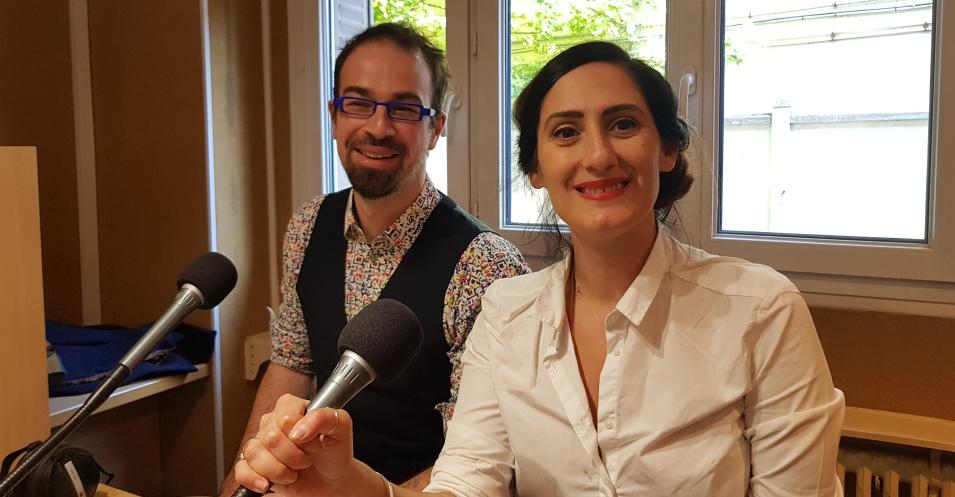 Magali Lahourcade-Siccardi et Gabriel Boudard idfm98
