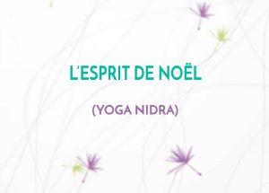 Séance de yoga nidra de décembre